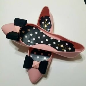 Kate Spade Jelly Ballerina Flats Size 8